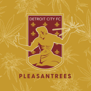 A Detroit Pro Soccer Team is Now Sponsored by a Weed Dispensary.