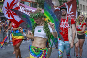 New York City Revelers Legally Light Up at Annual Cannabis Parade & Rally
