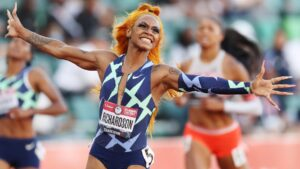 Sha'Carri Richardson to miss 100m at Olympics after testing positive for cannabis