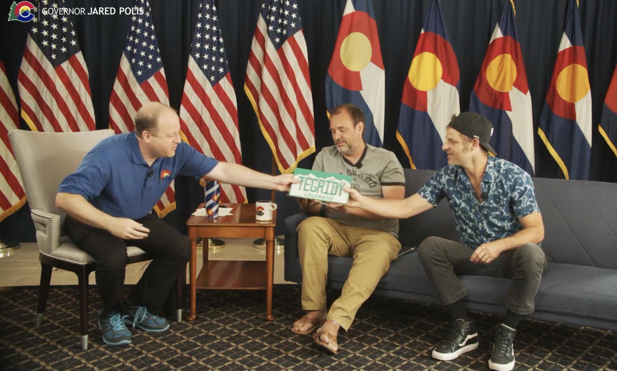 Colorado Governor Gives South Park Creators Marijuana-Themed License Plates Honoring 'Tegridy'