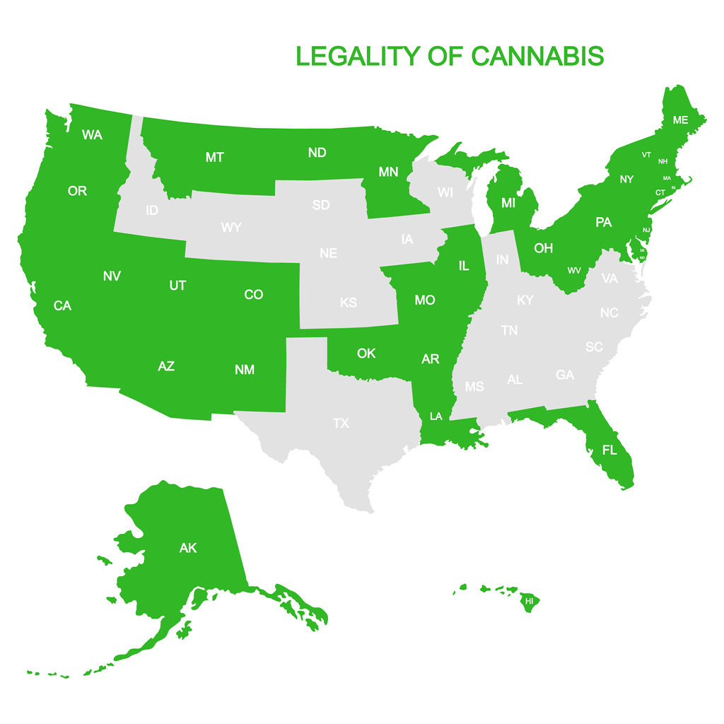 Legal Marijuana, In All 50 States—No Legalization Required? How Hemp Companies Are Hacking Federal Drug Laws.
